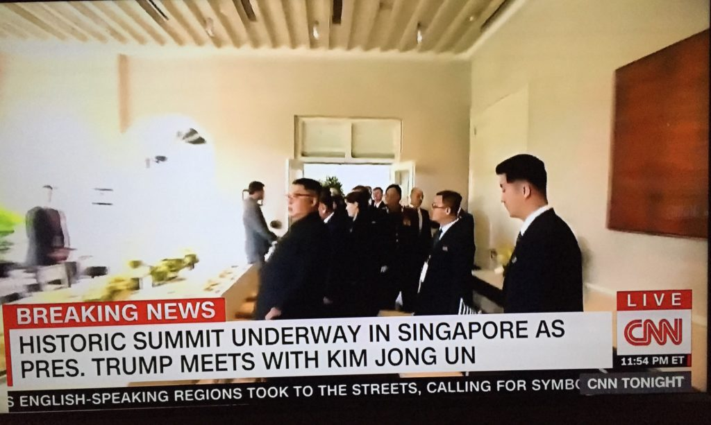 Trump/Kim Summit on CNN